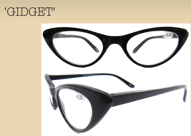 Retro Peepers - Gidget Frames - Vintage Style Reading Glasses