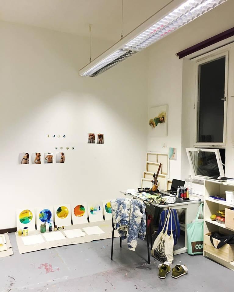 Artist Residency, Berlin Artist Studio, AnnaBaer