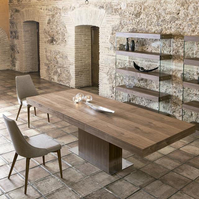 Mesas de comedor 5 mesas de comedor de dise o italiano for Mesa comedor diseno italiano
