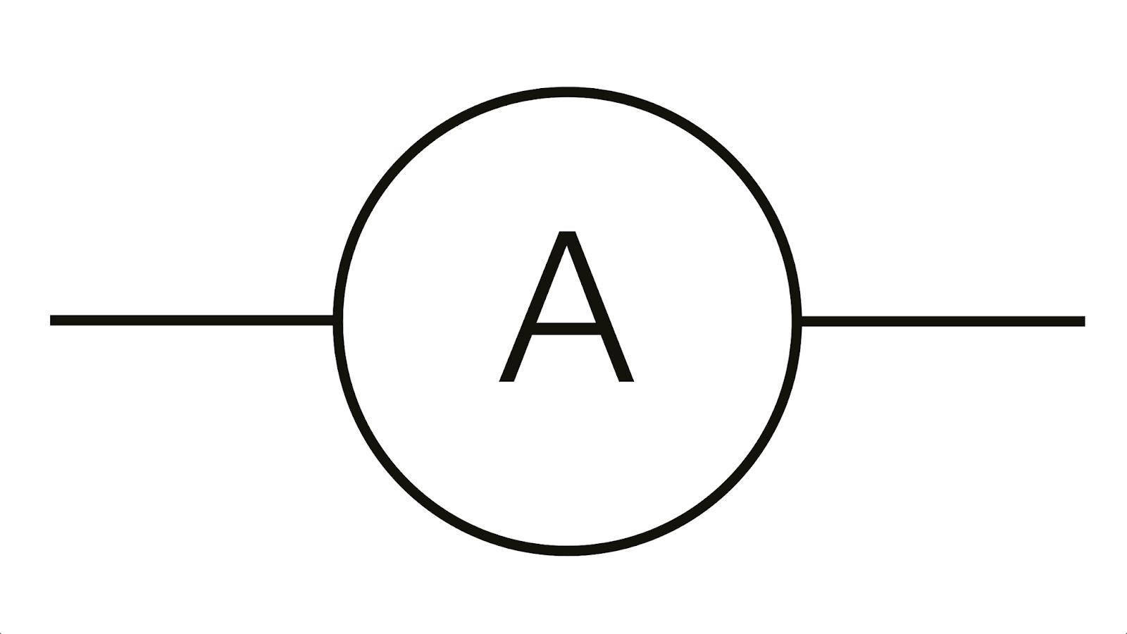 medium resolution of symbol of ammeter is