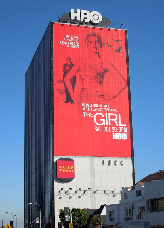 Girl HBO movie billboard Sunset Strip
