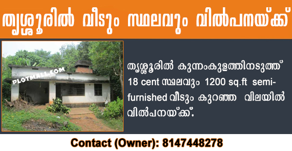 sale house in thrissur