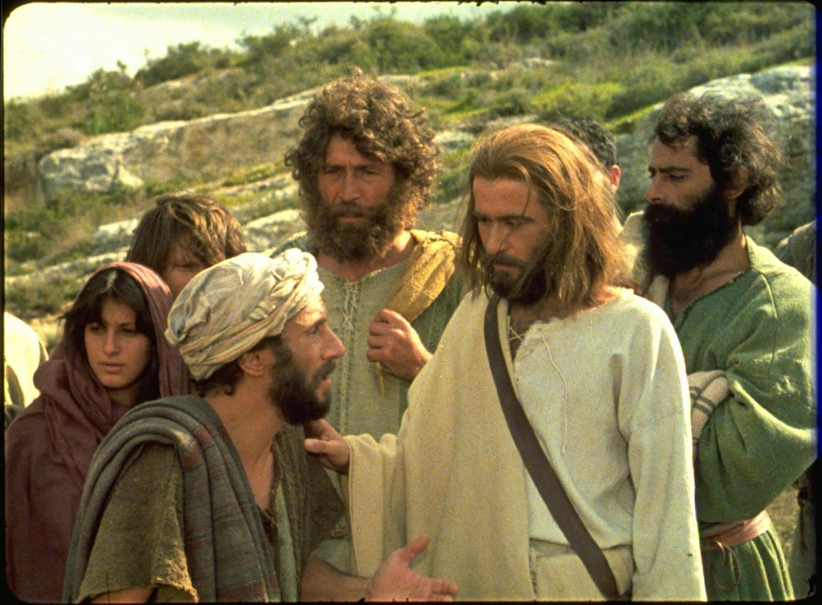 Resultado de imagem para jesus e natanael