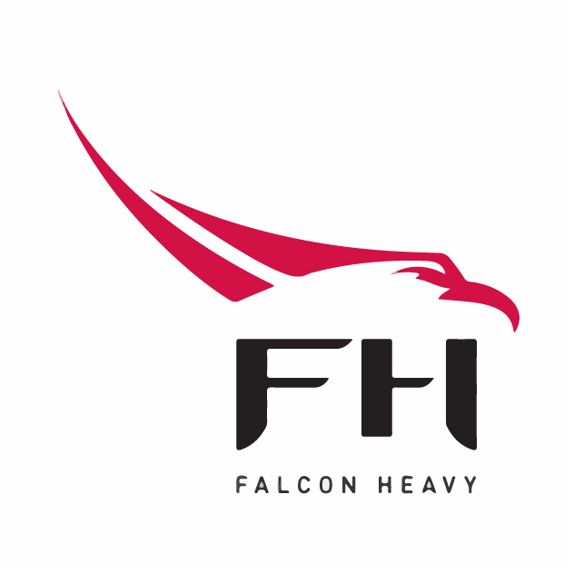 Falcon Heavy Logo Vector