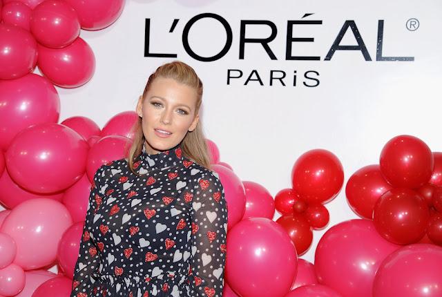 2017-02-13 ブレイク・ライブリー(Blake Lively)ニューヨークで開催された「ロレアル パリ/L'Oreal Paris」のイベントに出席。