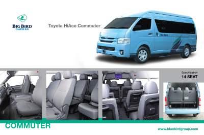 Sewa Hiace Commuter