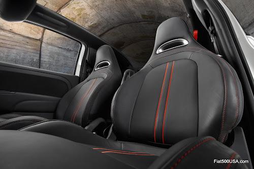 Fiat 500 Abarth Cabrio Seats