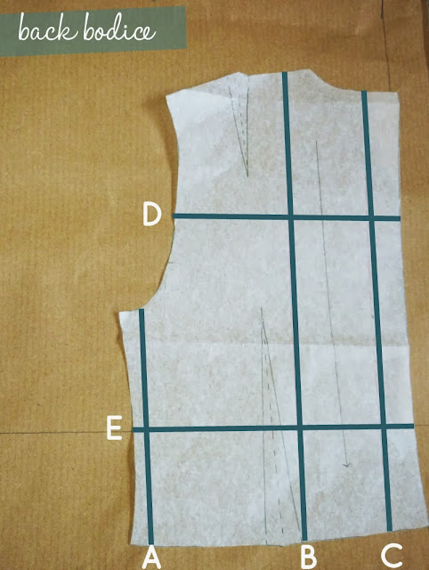 How to grade a pattern- Inspired by The Great British Sewing Bee