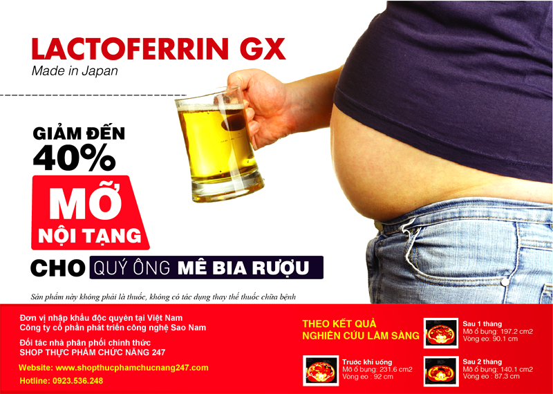 Thuốc Giảm Cân Của Nhật Bản Lactoferrin GX có tốt không, giá bao nhiêu tiền
