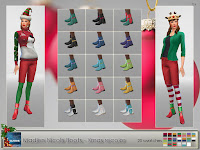 Madlen Nicolis Boots - Holiday Recolor