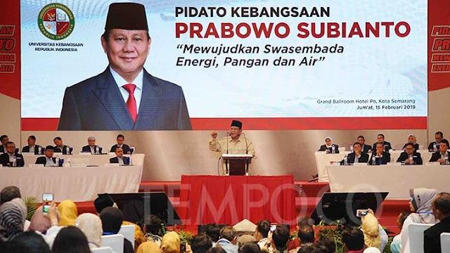 Prabowo Optimis Bisa Menang, Tapi Ada Syaratnya