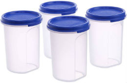 Tupperware 440ml Container Pack of 4 For Rs 459 (Mrp 1180) at Flipkart