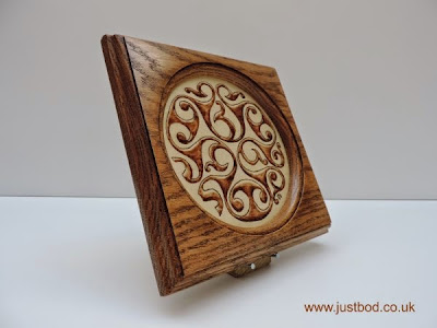 Early British Celtic La Tene Art plaque