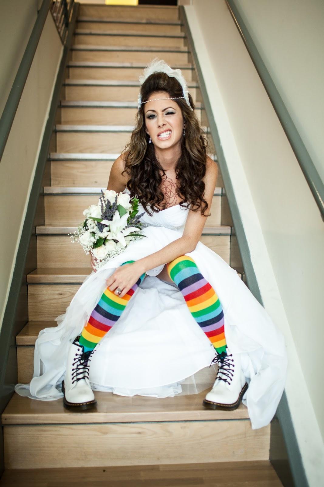 The Maze Of My Mind Diy Rainbow Eco Friendly Wedding