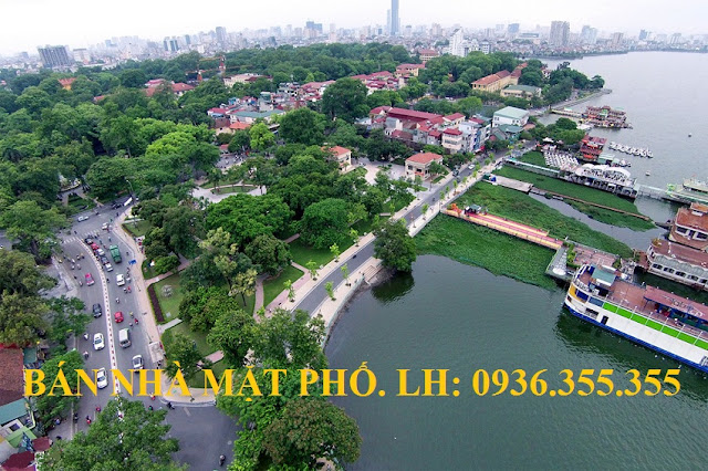 Bán nhà mặt phố Nguyễn Đình Thi, mặt Hồ Tây