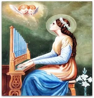 Tocando órgão para os anjos - Igreja Santíssima Trindade, Nova Palma (RS)