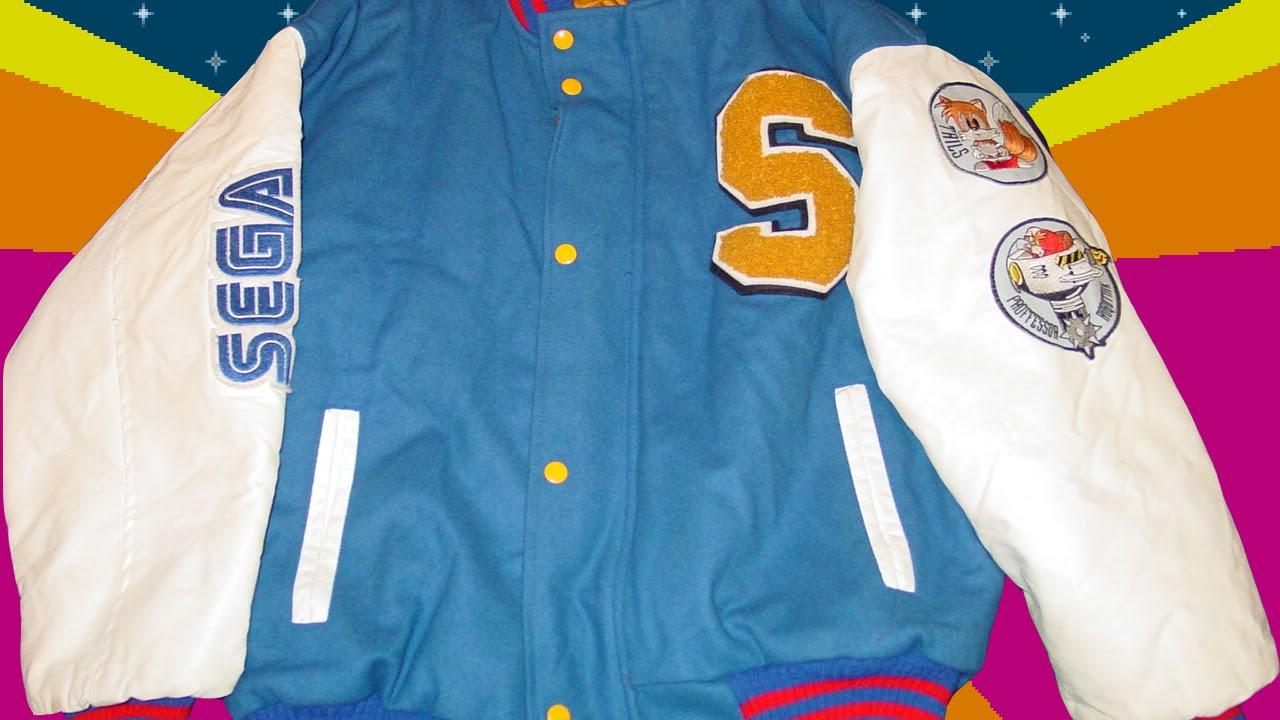 Adventures In Retro Gaming Play It Wear It 1 Sonic 2 Varsity Jacket