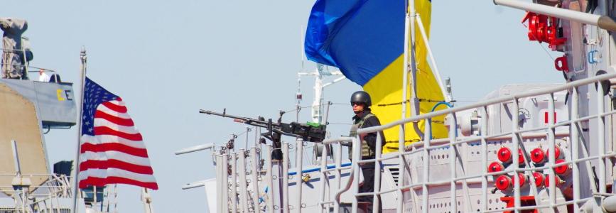 В акваторії Чорного моря стартували ювілейні, двадцяті, українсько-американські навчання Сі Бриз