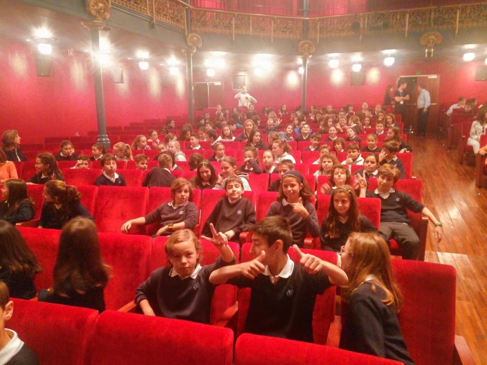 Agustinas Valladolid - 2017 - Primaria 5 6 - Teatro feria del Libro