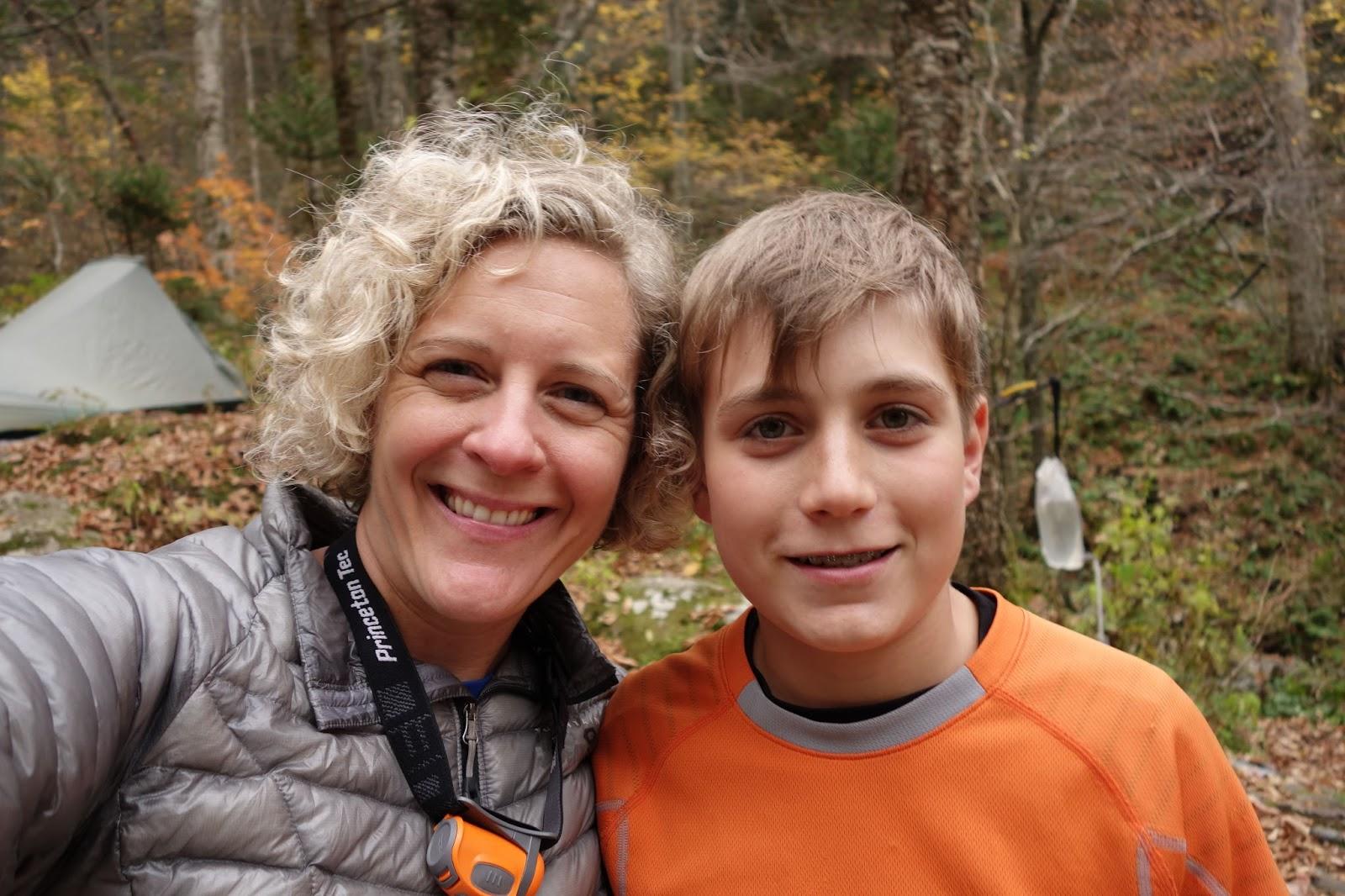 Nancy and Aidan