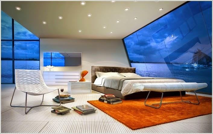 cuarto futurístico