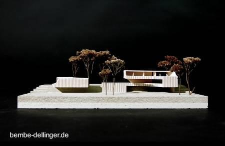 Maqueta de una villa en Bavaria, Alemania