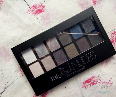 review maybelline nudes palette the rock nudes