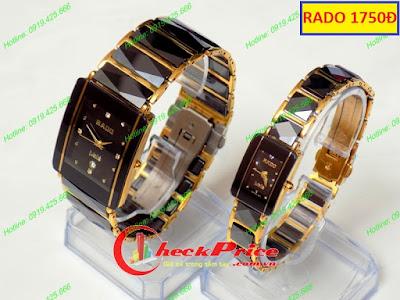 đồng hồ cặp đôi Rado RD 1750Đ