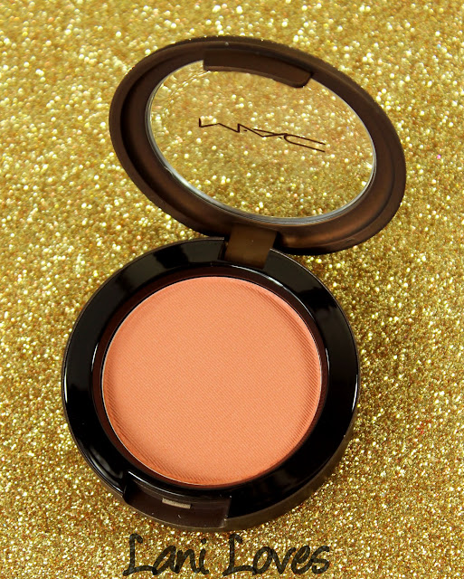 MAC Temperature Rising - Ripe For Love Blush Swatches & Review