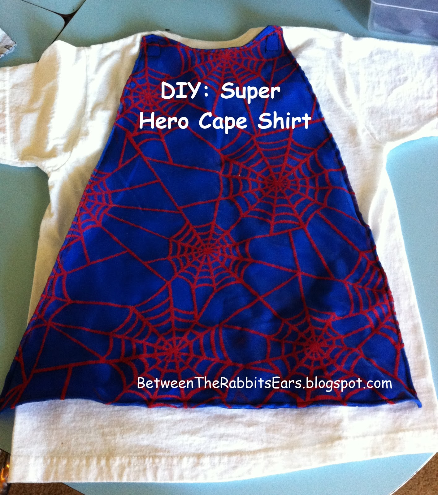Target Work Shirts Between The Rabbit 39s Ears Diy Super Hero Cape Shirt