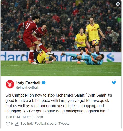 Indy Football Mohammed Salah