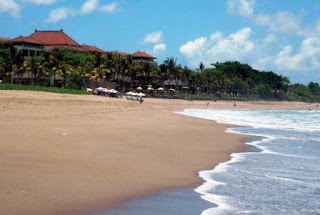 Seminyak Beach is one of the most famous beaches in Bali