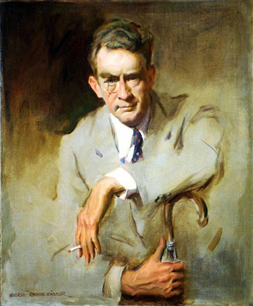 Everett Raymond Kinstler, International Art Gallery, Self Portrait, Art Gallery, Portraits Of Painters, Fine arts, Portrait of James Montgomery Flagg, Self-Portraits, James Montgomery Flagg