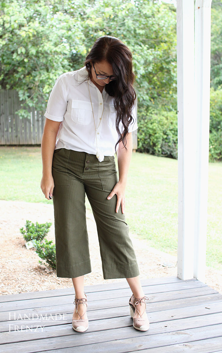 Lander Pants // Sewing For Women