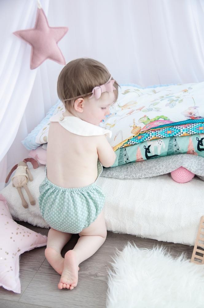 strój kąpielowy dla niemowlaka