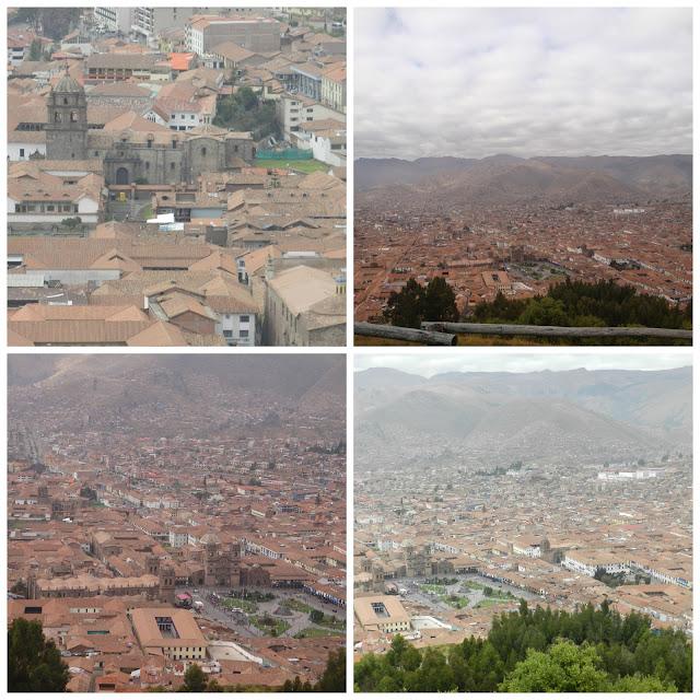 Cusco vista de Saqsayhuamán, Peru