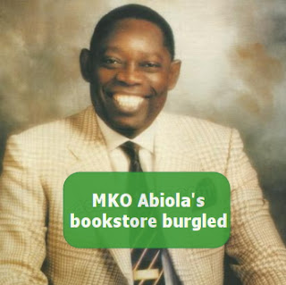 mko abiola bookstore oshodi lagos burgled