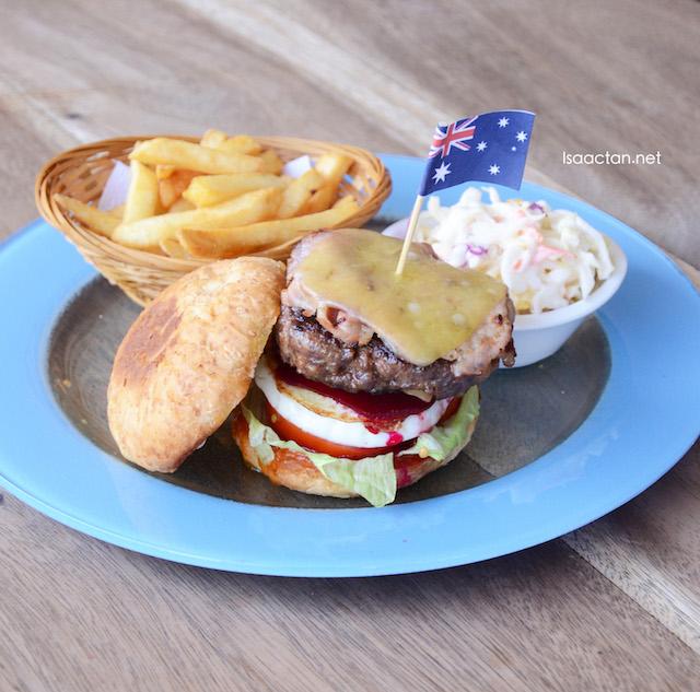 Aussie Burger - RM28