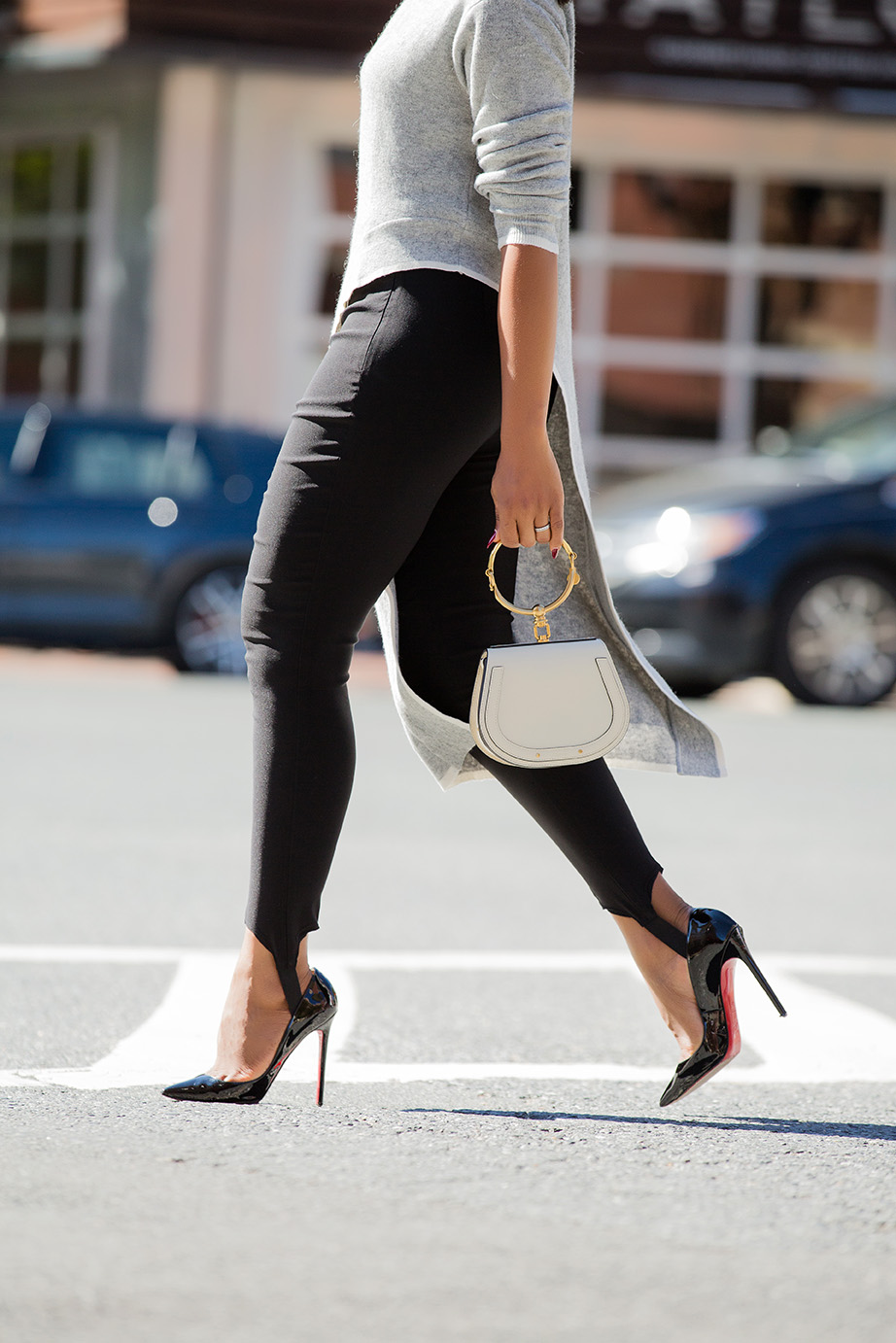 Stirrup leggings, weekend date look, www.jadore-fashion.com