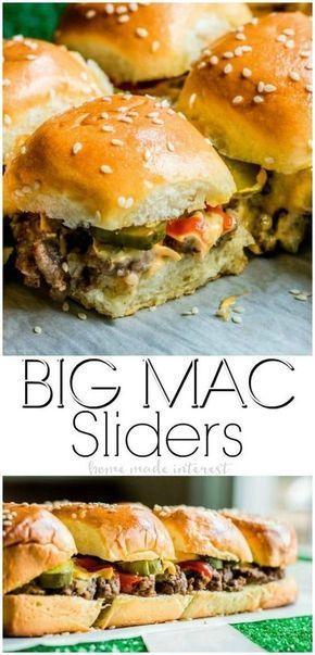 Easy Copycat Big Mac Sliders