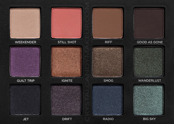 Urban Decay UD Born To Run Eyeshadow Palette Review