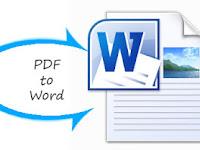 Download Panduan Cara Mengubah File PDF Menjadi File Document