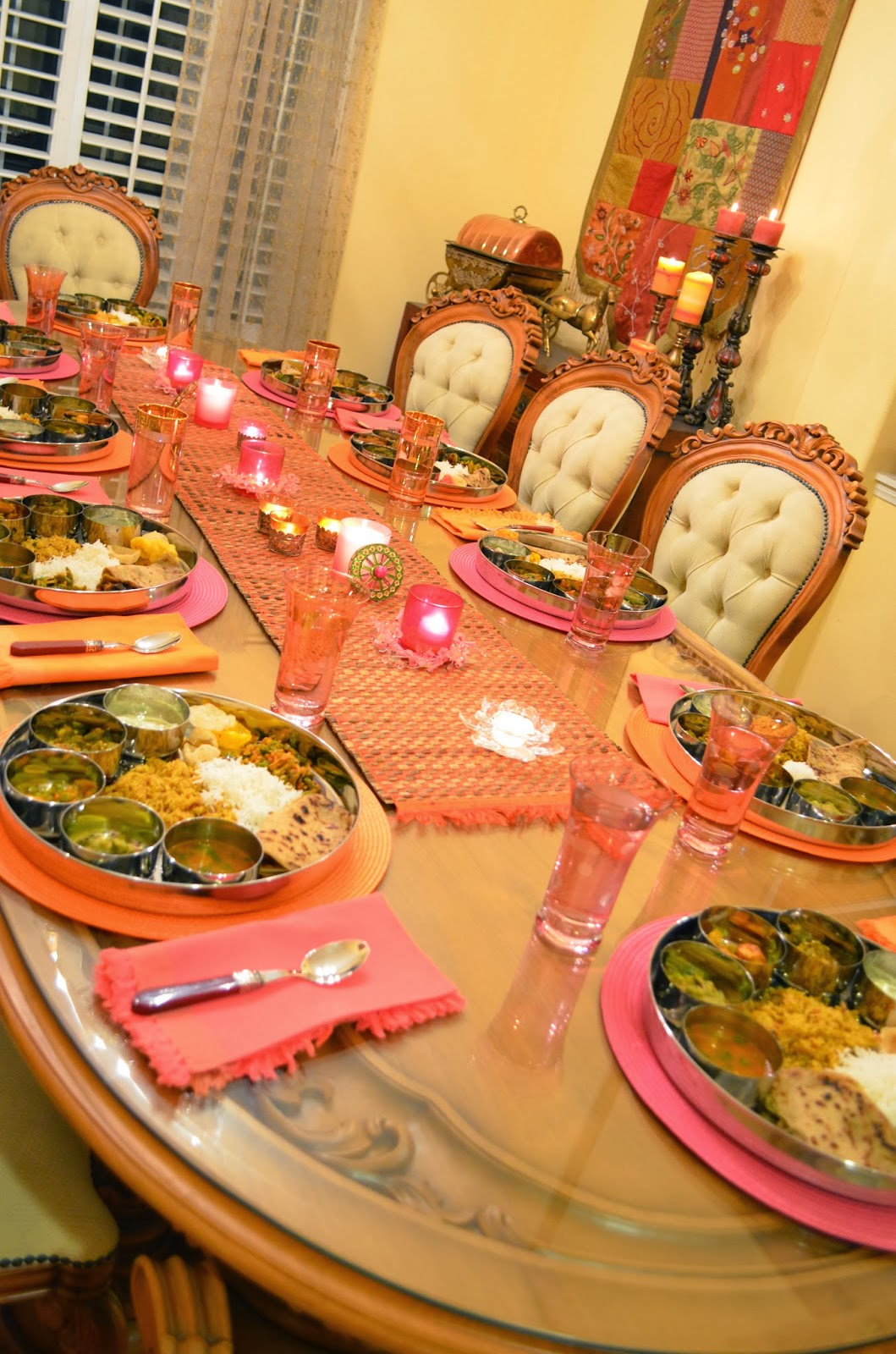 Entertaining From An Ethnic Indian Kitchen Traditional