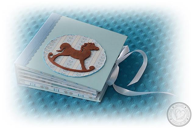 Album z koniem na biegunach dla małego chłopca