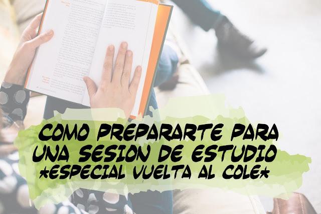 Cómo prepararte para una jornada de estudio - Pegotiblog
