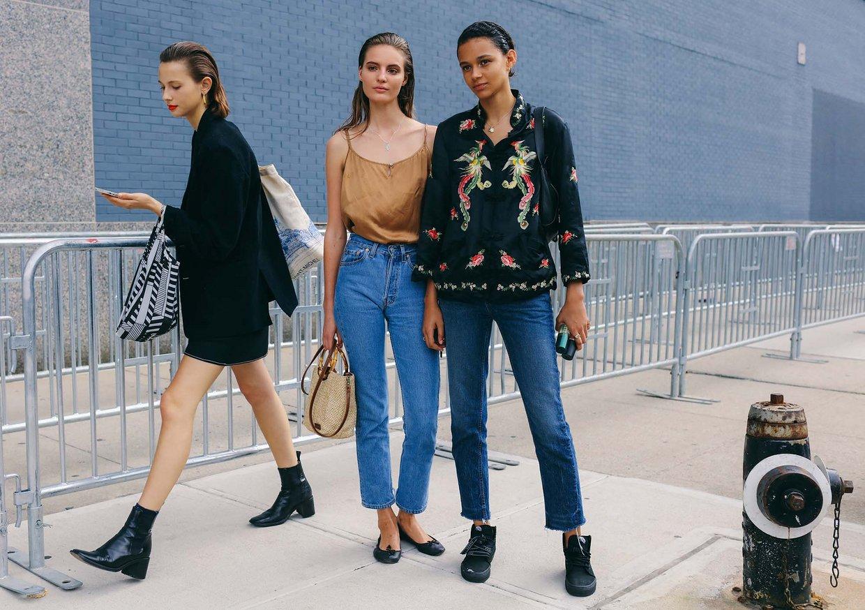 Street Style: Tilda Lindstam & Binx Walton at NYFW