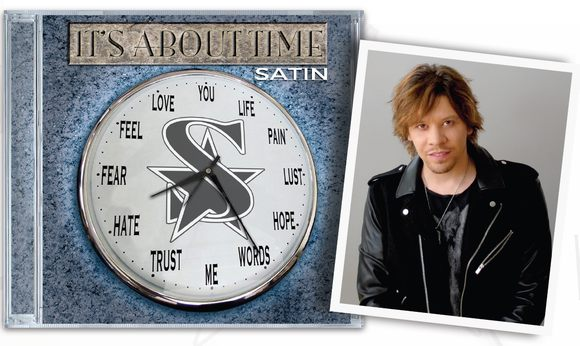 SATIN - It's About Time [Japan Edition +2]  inside