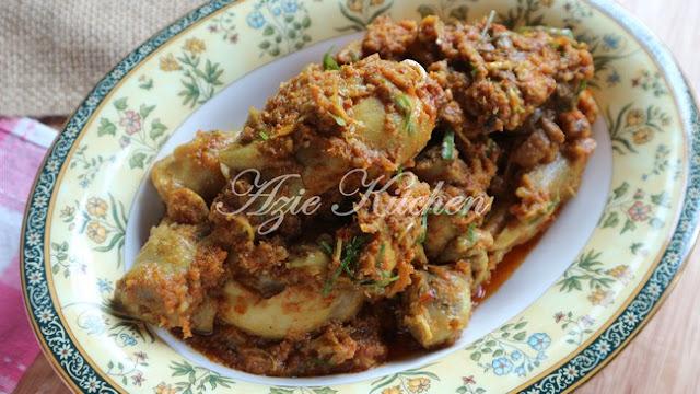 Rendang Pedas Ayam Bonda Mertua Yang Sangat Sedap Rendang Pedas Ayam Bonda Mertua Yang Sangat Sedap