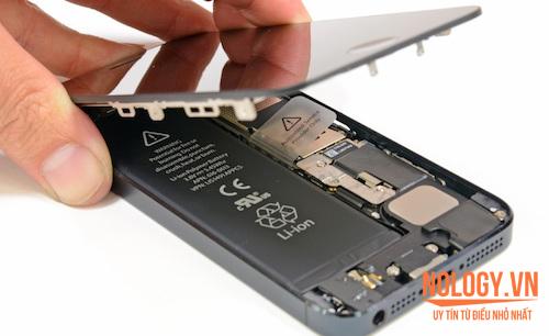 Sửa lỗi iphone 6 plus sạc không vào pin