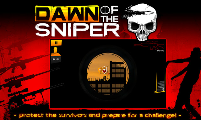 dawn of the sniper para hileli apk indir
